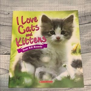 I Love Cats and Kittens Book